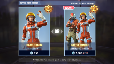 FREE Fortnite BATTLE BUNDLE Unlock WITH V BUCKS SEASON 4