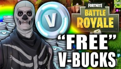 V-bucks on iOS iPhone devices