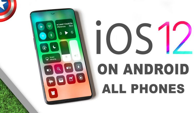 install iOS 12 android on Samsung, iOS12 on android,download and install iOS 12 samsung android xiaomi